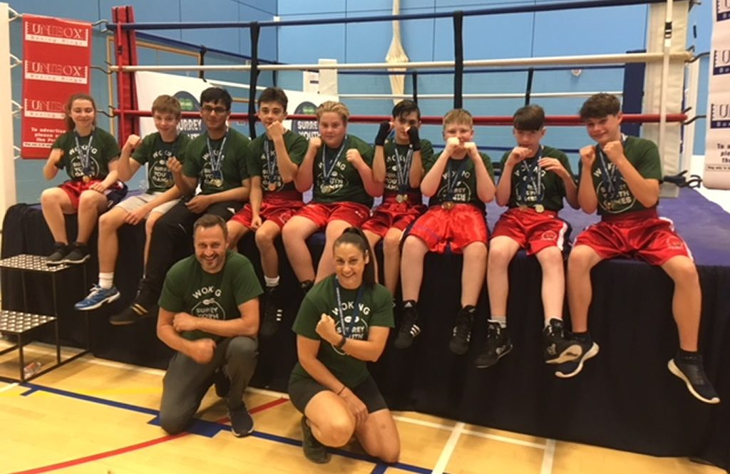 Surrey Youth Games Gold Medal Winners 2018